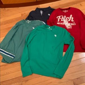 Abercrombie long sleeve t-a